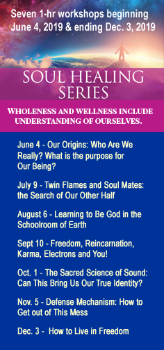 Soul Healing Series - Seven 1-hr workshops