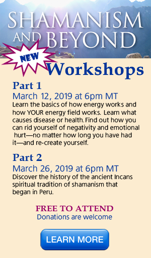 Shamanism and Beyond Workshops - Learn More
